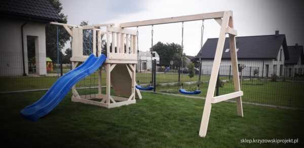 plac zabaw, meble ogrodowe, domek dla dzieci, zjeżdżalnia, ślizg, ścianka wspinaczkowa, huśtawka dla dzieci, nowoczesny plac zabaw drewniany 01