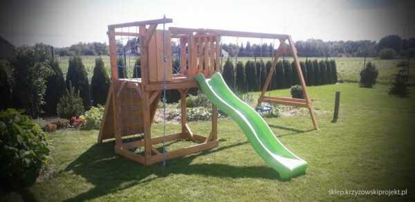 plac zabaw, meble ogrodowe, domek dla dzieci, zjeżdżalnia, ślizg, ścianka wspinaczkowa, huśtawka dla dzieci, nowoczesny plac zabaw drewniany 13