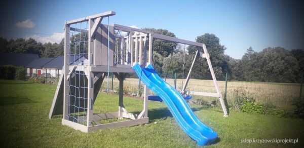 plac zabaw, meble ogrodowe, domek dla dzieci, zjeżdżalnia, ślizg, ścianka wspinaczkowa, huśtawka dla dzieci, nowoczesny plac zabaw drewniany 14