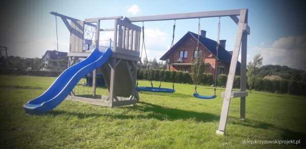 plac zabaw, meble ogrodowe, domek dla dzieci, zjeżdżalnia, ślizg, ścianka wspinaczkowa, huśtawka dla dzieci, nowoczesny plac zabaw drewniany 15