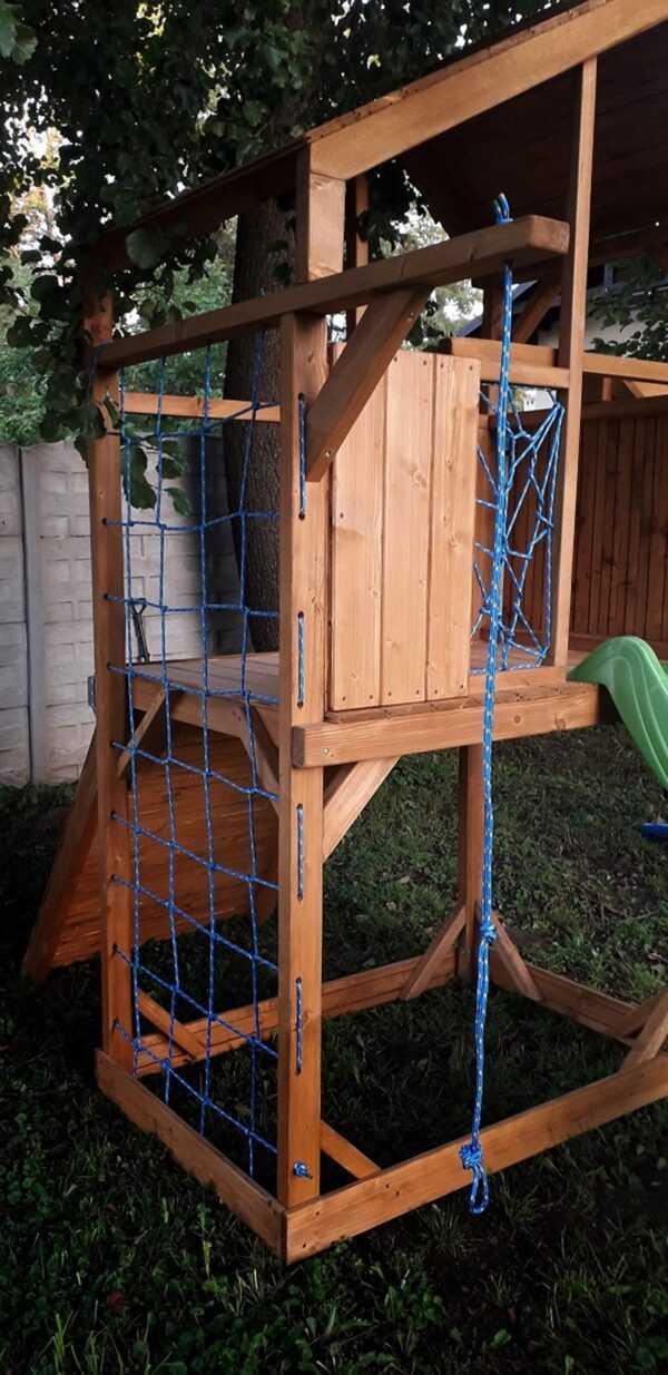 plac zabaw, meble ogrodowe, domek dla dzieci, zjeżdżalnia, ślizg, ścianka wspinaczkowa, huśtawka dla dzieci, nowoczesny plac zabaw, drewniany plac zabaw z dachem 04